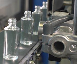 Linx-Drucker kennzeichen verschiedene Oberflächen wie z.B. Glas