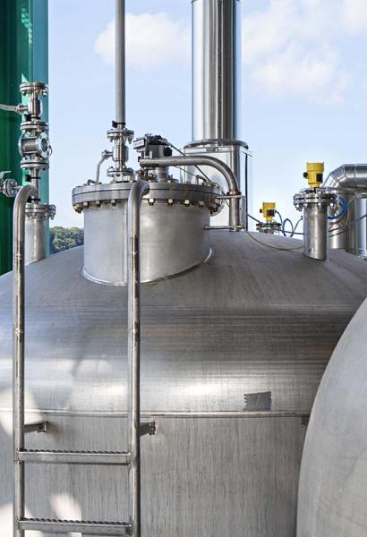 80 GHz-Sensoren im Industrieeinsatz