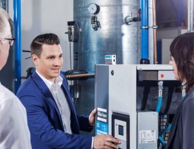 Thomas Friedrich, Leiter Marketing und Vertrieb im Service bei Atlas Copco Kompressoren und Drucklufttechnik