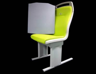 Neue und komfortablere Rückenpolsterung aus Basotect in Bahnsitzen auf US-Schienen