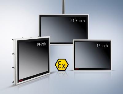 Die Ex-Panel-Lösungen der CPX-Serie verbinden als Einbau- oder Stand-alone-Variante ein hochwertiges und elegantes Design mit moderner kapazitiver Multitouch-Technologie