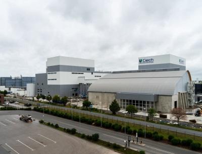Das neue Ciech-Salzwerk in Staßfurt, Sachsen-Anhalt