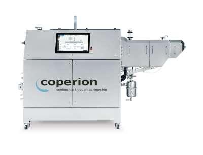 Der Coperion ZSK 18 Megalab Doppelschneckenextruder ermöglicht einen sicheren Herstellungsprozess und eine flexible Handhabung für Forschungen im Bereich Batterieelektroden