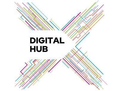 Der Digital Hub dient als zentraler Treffpunkt und bietet Unternehmen einen Platz, die sich auf digitale Angebote spezialisiert haben