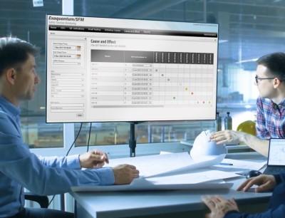 Mit SFM R3.35 können Kunden die Leistungseffizienz definierter sicherheitstechnischer Systeme im Vergleich zu ihren Auslegungszielen überwachen