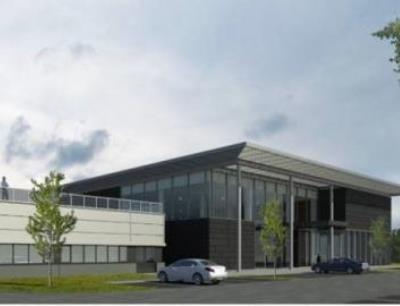 Über 12.000 Quadratmeter erstreckt sich der Neubau der Follmann Chemie Gruppe am Standort Minden