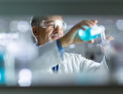 Forscher in der chemischen Industrie