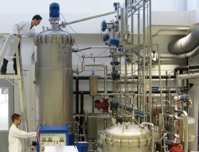 Technikum des Forschungszentrums für Weiße Biotechnologie