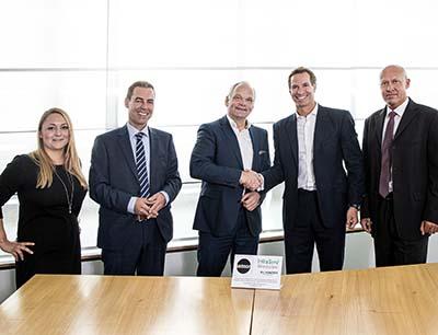 Unterzeichnung der Kooperationsvereinbarung zwischen Samson und Infraserv Wiesbaden