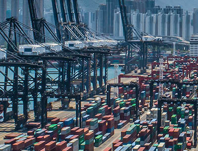 China Containerterminal Hong Kong