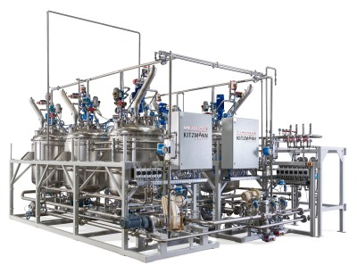 Flüssigkeitshandling weiter ausgebaut: Umweltfreundliche verfahrenstechnische Flüssigkeitsanlage