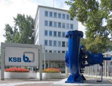 KSB Verwaltungsgebäude in Frankenthal, Deutschland