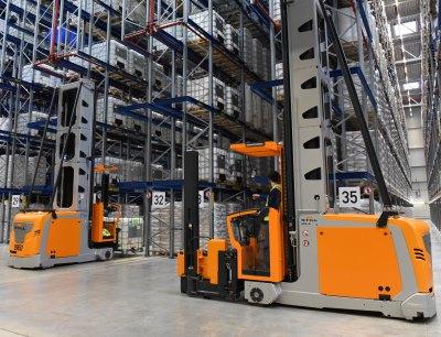 Der neue Greiwing Komplex am Standort Burghausen verfügt über eine Lagergrundfläche von 20.500 m2