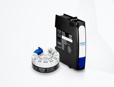Neuer universeller Optitemp TT 33 C/R Temperaturtransmitter für Widerstandsthermometer und Thermoelemente