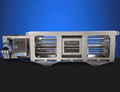 Der rotierenden Cleanflow-Magnetabscheider eignet sich für die Installation in Freifalleitungen in einem kontinuierlichen Prozess der Chemischen, Keramik und Recyclingindustrie