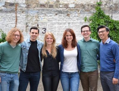 """Science4Life"" Technology Slam Gewinnerteam Infinity Startup"