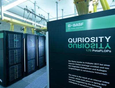 Der BASF Supercomputer hat seinen Betrieb aufgenommen