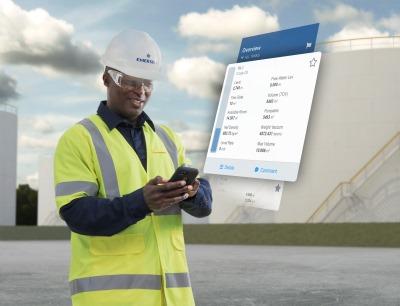 Rosemount Tankmaster Mobile bietet mobilen Zugriff auf Echtzeit-Tankdaten