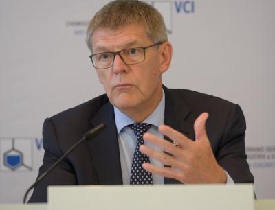 Dr. Utz Tillmann, VCI-Hauptgeschäftsführer und Mitglied des Präsidiums