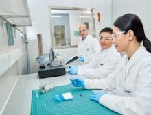 Der Innovation Campus in Shanghai ist der größte F&E-Standort der BASF in der Region