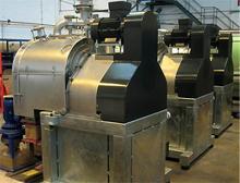 Kombination aus Short Bowl Decanter-Zentrifuge und magnetgekuppelter Pumpe von CP