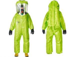 Der neue gasdichte (Typ 1a-ET) Chemikalienschutzanzug Tychem TK von Dupont