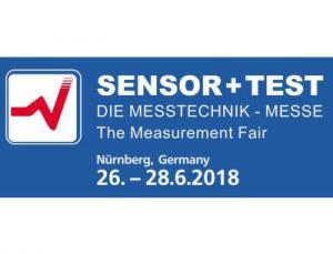 Logo der Sensor+Test 2018