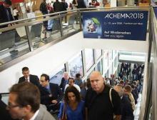 Die Achema ist das Weltforum für chemische Technik, Verfahrenstechnik und Biotechnologie
