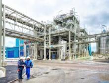 Die neue Membranelektrolyse-Anlage in Ibbenbüren