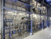 Forschungstechnikum der BASF in Ludwigshafen