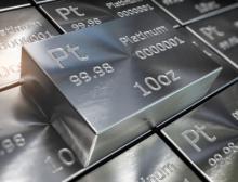 Platin ist eines der Metalle, die im Rahmen des Edelmetallrecyclings der BASF zurückgewonnen werden
