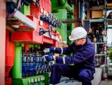 Verantwortung für die Instandhaltung von drei Anlagenclustern