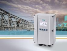 Clamp-on-Ultraschall-Durchflussmessgerät Sitrans FS220 von Siemens