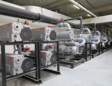 Mit Hilfe einer Zentralisierung der Vakuumversorgung können Energieeinsparungen erzielt werden