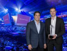 Microsoft Partner of the Year Award - Preisübergabe