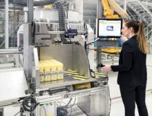 Dematic Automated Mixed Case Palletizing (Amcap) System