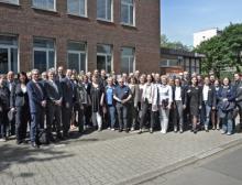 Führungskräfte der Agentur für Arbeit Krefeld und die Jobcenter Krefeld und Kreis Viersen tagen im Chempark