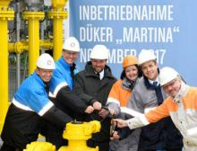 """Startschuss für die Inbetriebnahme des neuen Dükers """"Martina"""""""