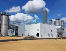 Die neue Anlage in Charleston, USA, zur Herstellung von gefällter Kieselsäure für die Reifenindustrie, wurde im Oktober 2018 in Betrieb genommen