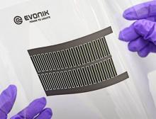Druckbare Batteriematerialien von Evonik und elektrochrome Displays von Ynvisible werden kombiniert