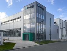 """Carbon2Chem""-Labor auf dem Campus des Fraunhofer-Instituts"