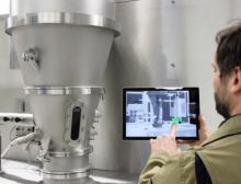 Digitale Anlagenüberwachung für die vorausschauende Instandhaltung. Die dafür notwendige Vernetzung der Anlagen basiert auf ihrem digitalen Zwilling
