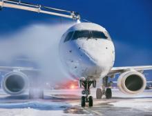 Flugzeug-Enteisungsmittel auf Basis von Propylenglykol