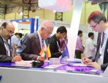 Reges Treiben auf der Powtech India 2018