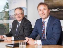Geschäftsleitung Infraserv Knapsack: Dr. Clemens Mittelviefhaus und Ralf Müller