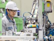 Kartuschenabfüllung von Silicondichtstoffen am neuen Wacker-Standort Jincheon, Korea