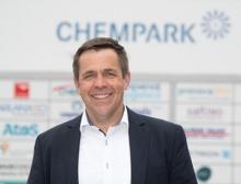 Chempark-Leiter Lars Friedrich präsentiert aussichtsreiche Kennzahlen rund um das Wirtschaftsjahr 2020