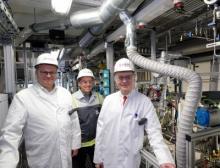 Dr. Marc-Oliver Kristen, Dr. Frank Stenger, Prof. Dr. Robert Franke von Evonik