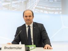 Dr. Martin Brudermüller, Vorstandsvorsitzender BASF auf der Bilanzpressekonferenz für das Gesamtjahr 2020