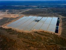 Am Standort Ouarzazate liegt die jährliche Sonneneinstrahlung bei rund 2.635 kWh/m2, einem der höchsten Werte weltweit
